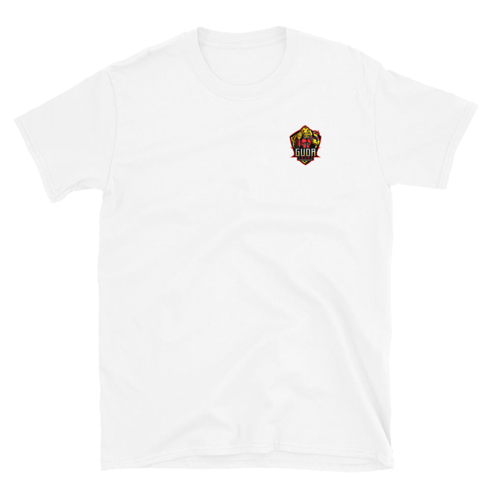 Bboy_Jalapeno Short-Sleeve T-Shirt (Simple) (Front & Back Design)