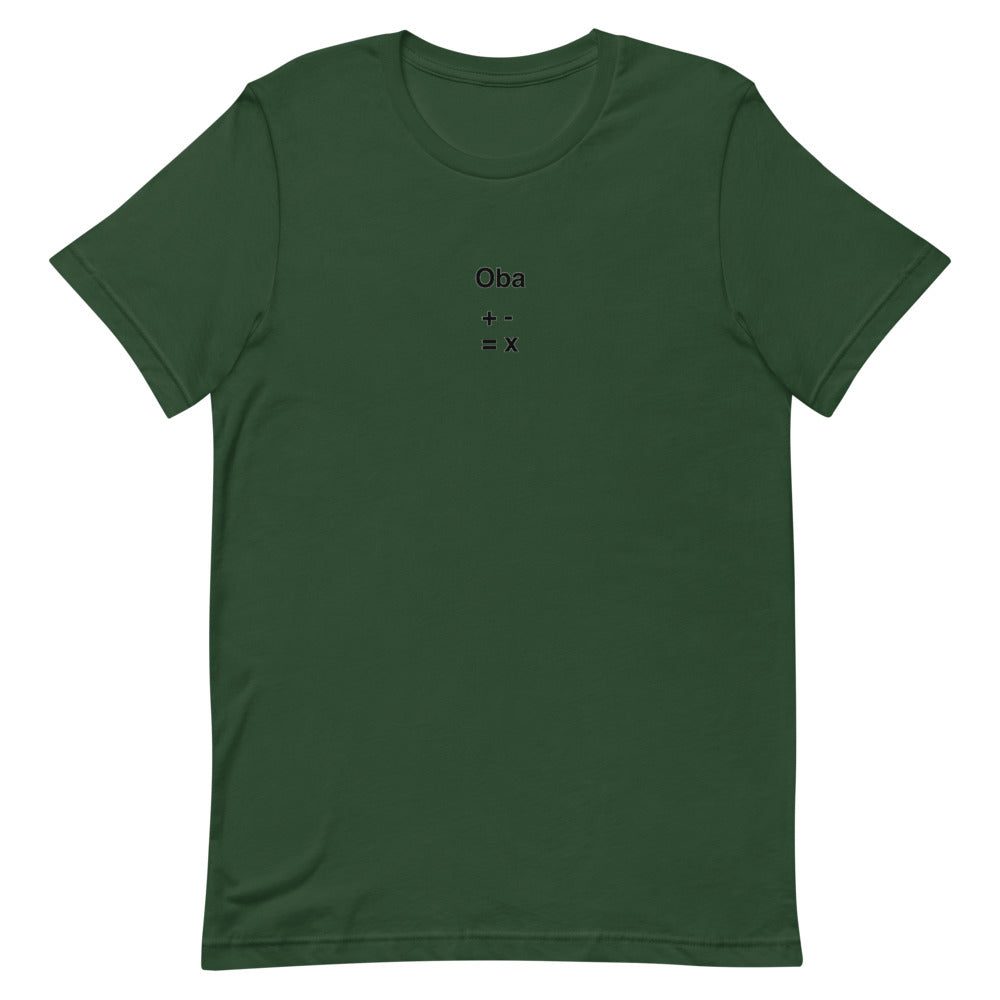 Oba(+-=x) Short-Sleeve T-Shirt