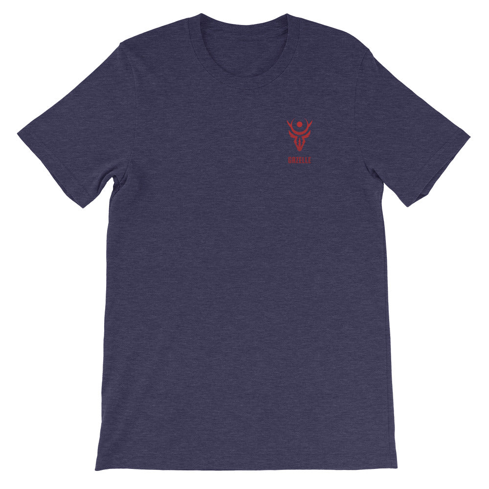 Gazelle Red Logo Short-Sleeve T-Shirt