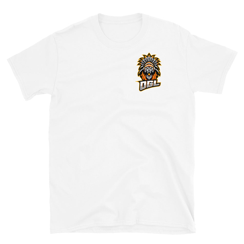 BH OGL Logo Short-Sleeve T-Shirt (Front + Back) (Simple)