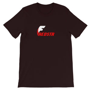 Fredstr White Logo Short-Sleeve T-Shirt