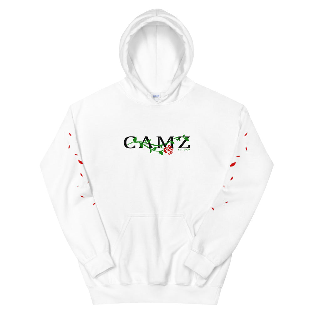 Camz Hoodie With Pedals Sleeves - Digital Print