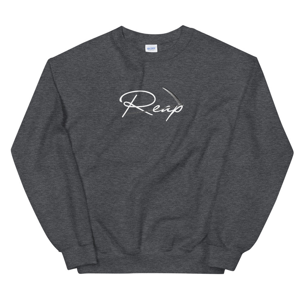 Reap White Logo Sweatshirt