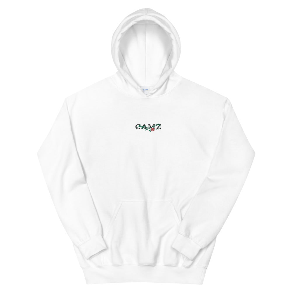 "Camz Hoodie Embroidery ""White"""