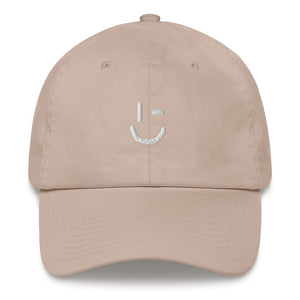 Rawky White Wink Dad hat
