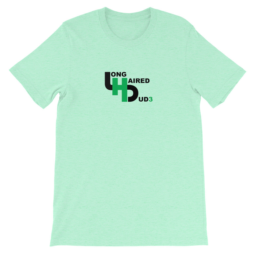 LongHairedDud3 Logo Short-Sleeve T-Shirt