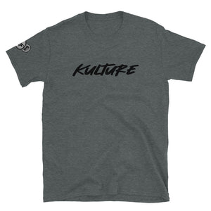 Kulture + Logo (Right Shoulder) Short-Sleeve T-Shirt (Simple)