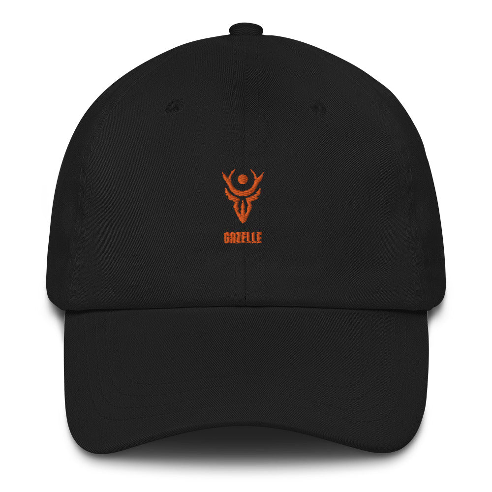 Gazelle Orange Logo Dad hat