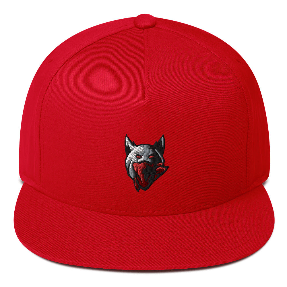Team Violent's Logo Flat Bill Cap