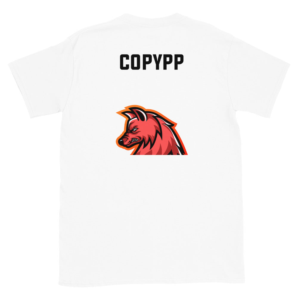 CopyPP (Front + Back) Short-Sleeve T-Shirt (Simple)