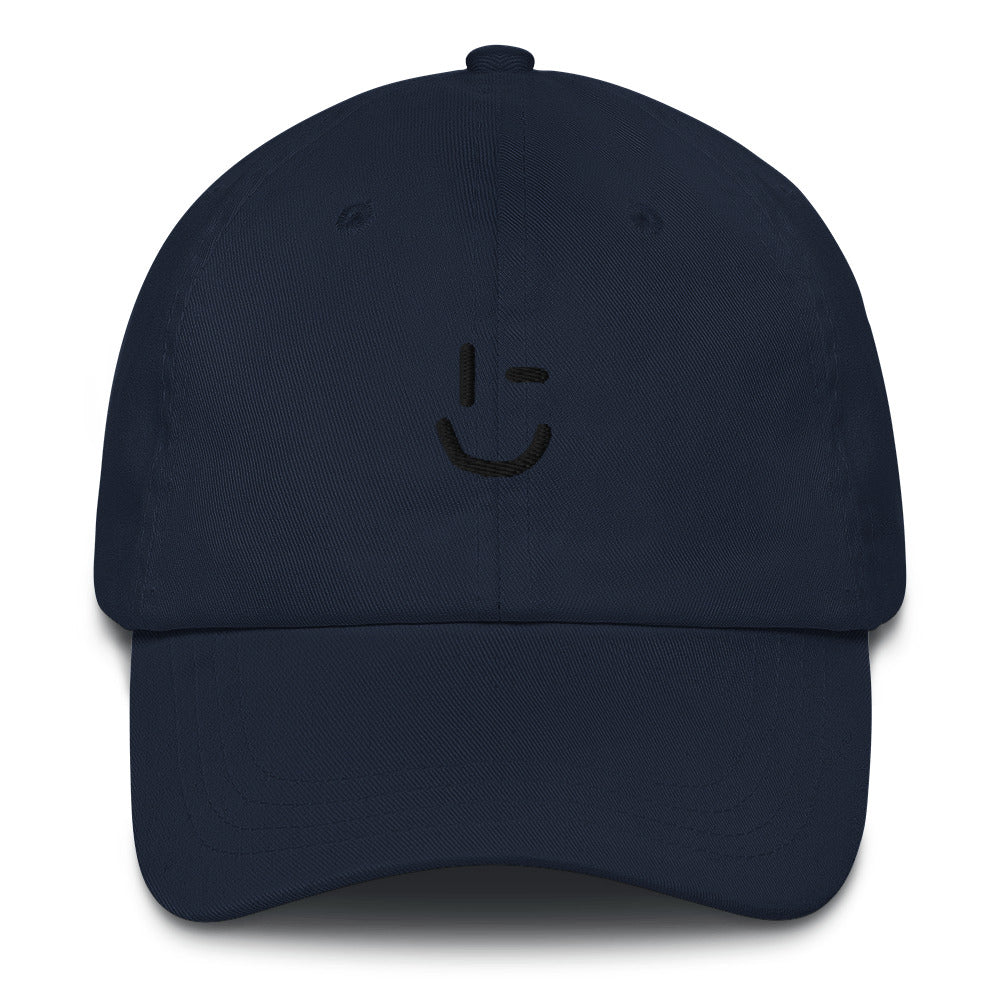 Rawky Black Wink Dad hat