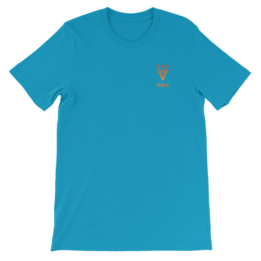 Gazelle Orange Logo Short-Sleeve T-Shirt