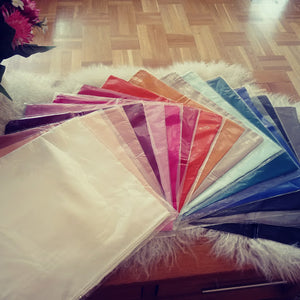 100% Pure Real Silk Square Scarf by HomePal - Ruth & Fiona