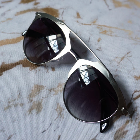 Gunmetal Chic Sunglasses (Designer Inspired)