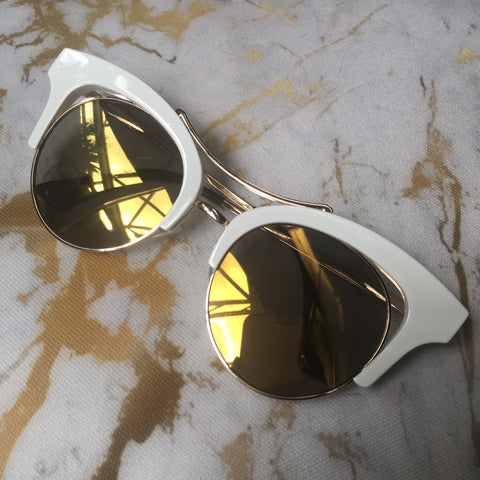 Bold Bronze Sunglasses