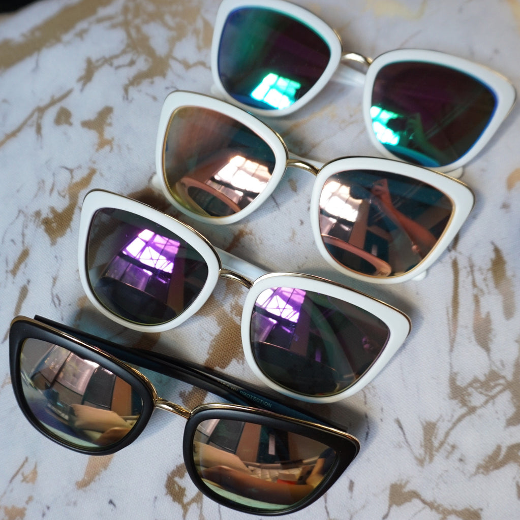 Colorful Cat Eye Sunglasses