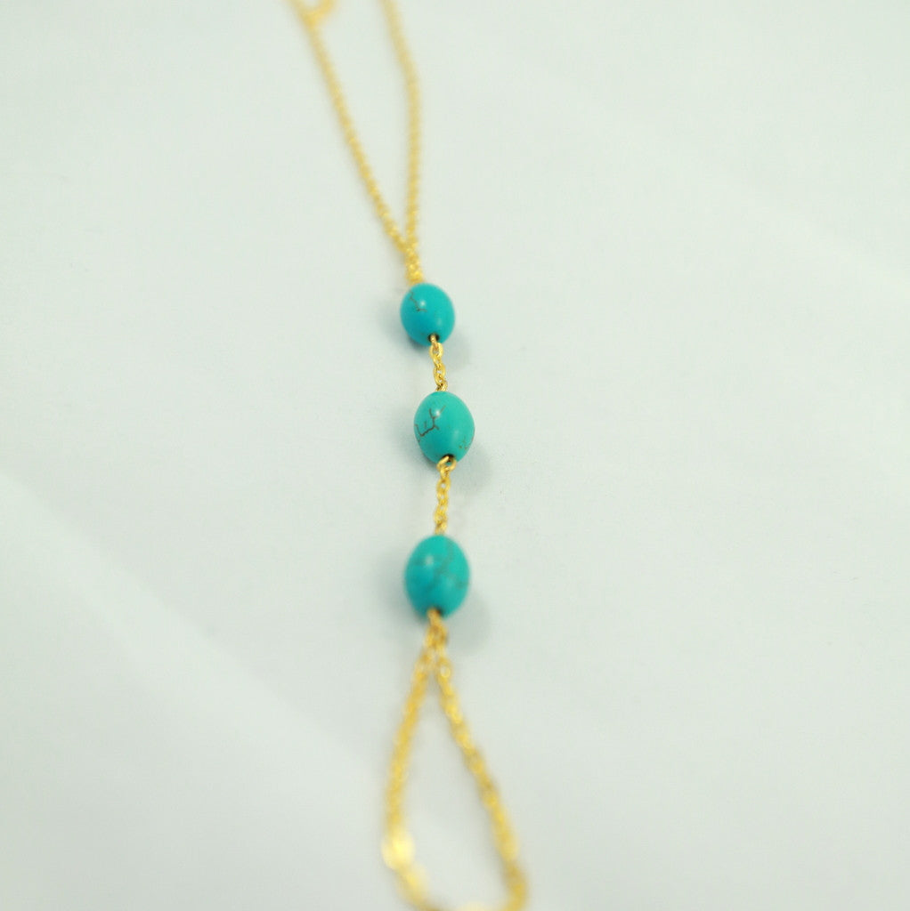 Beaded Foot Chain