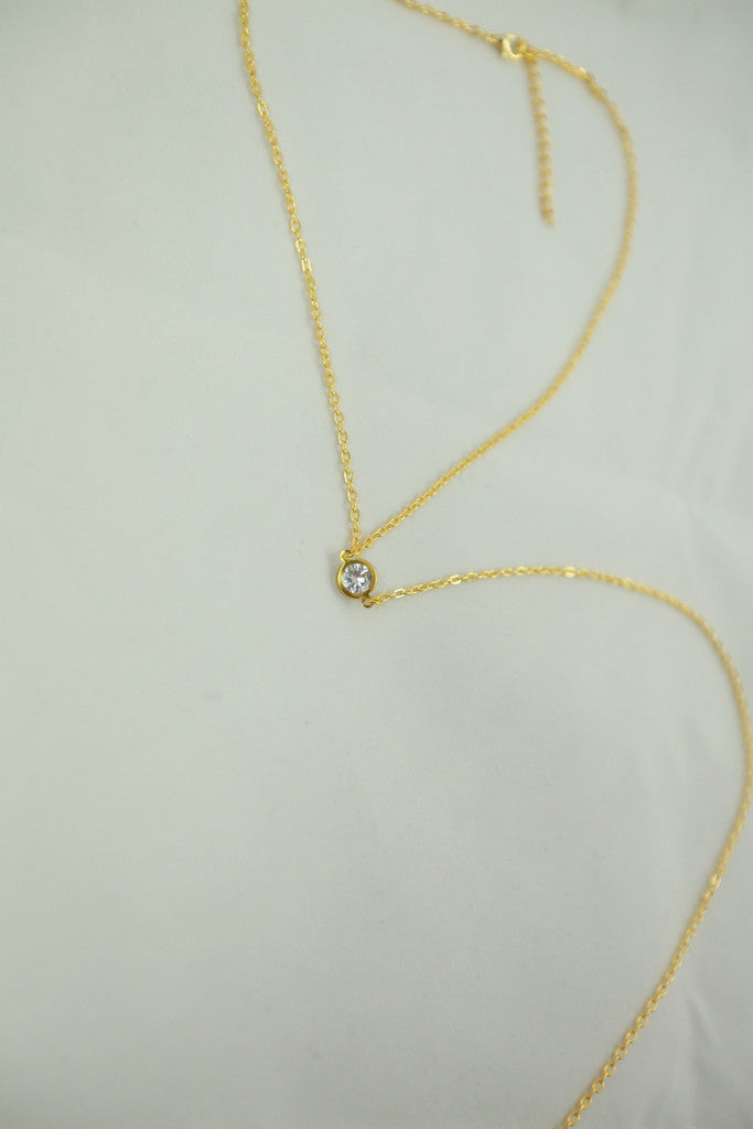 Diamond Choker Body Chain