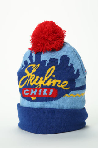 Skyline Knit Beanie With Cuff