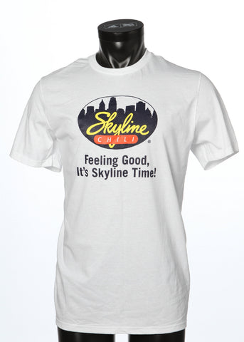 White Skyline Chili T-Shirt