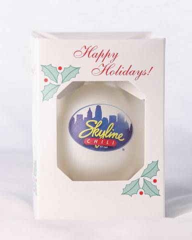 Skyline Holiday Ornament