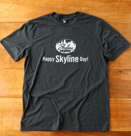 Skyline Black Frost Tri-Blend Crewneck T-Shirt
