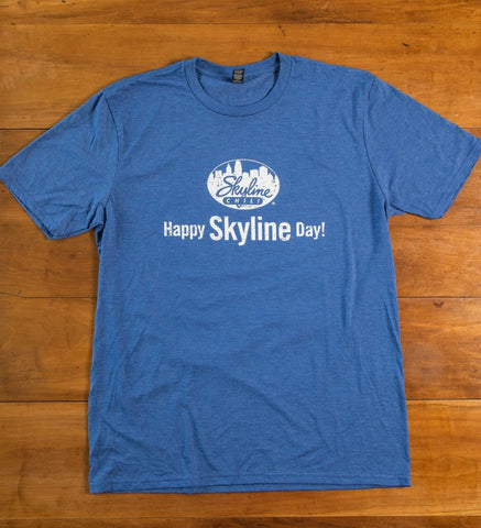 Skyline Royal Frost Tri-Blend Crewneck T-Shirt