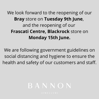 Store Re-Opening- Bray and Blackrock