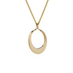 Maureen Lynch Circle of Dreams 9ct Gold Necklace