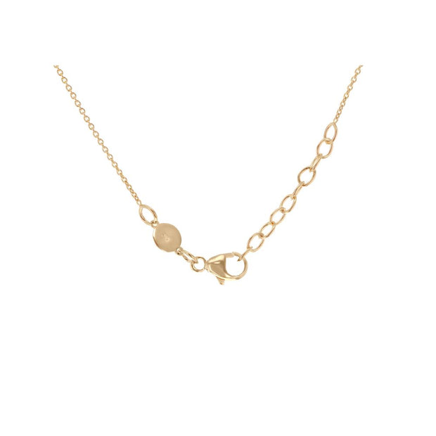 9ct Gold Mini Disc Necklace