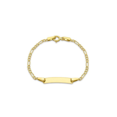 9ct Gold Fiagro Link ID Bracelet