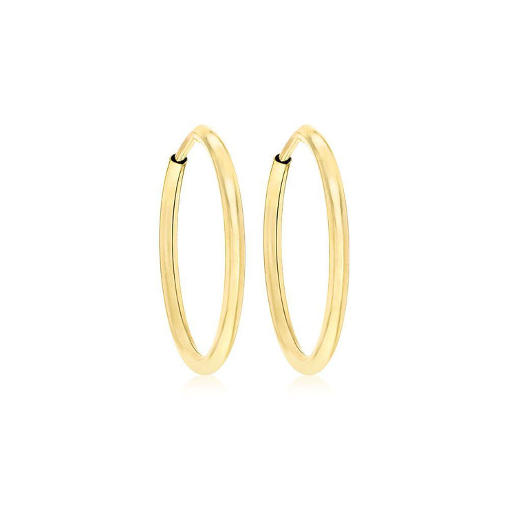 9ct Gold Hoop Earring