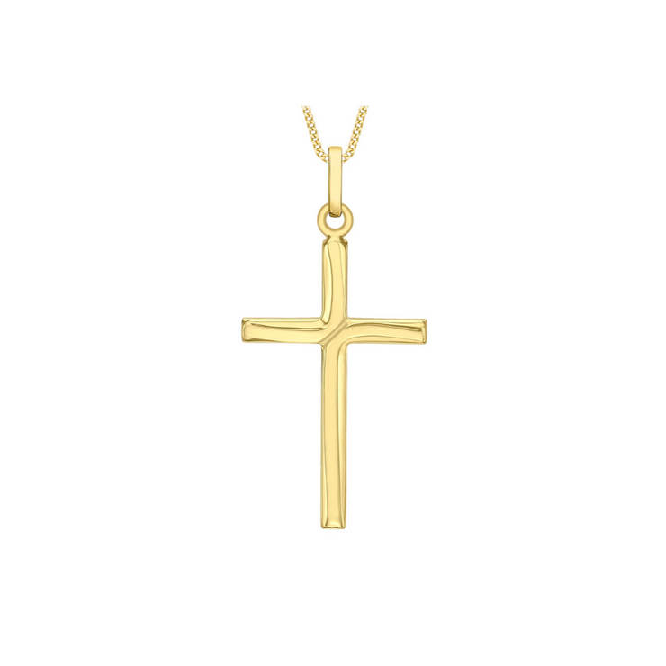 9ct Gold Cross Pendant