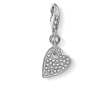 Thomas Sabo Charm Club Love Heart charm 1760-051-14