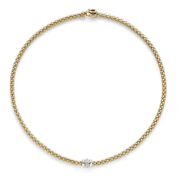 FOPE Solo 18ct Yellow Gold Necklace 653C BBR
