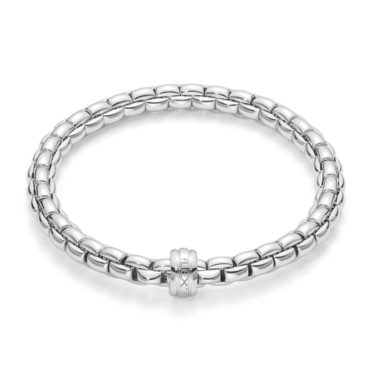 FOPE Flex'it Eka 18ct White Gold Bracelet 704B