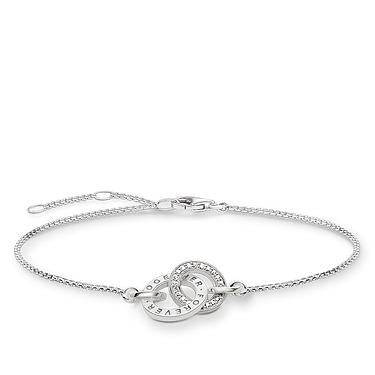 Thomas Sabo Together Forever silver bracelet A1551-051-14