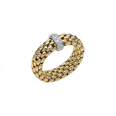 FOPE Vendome 18ct Yellow Gold Ring AN559 BBRM