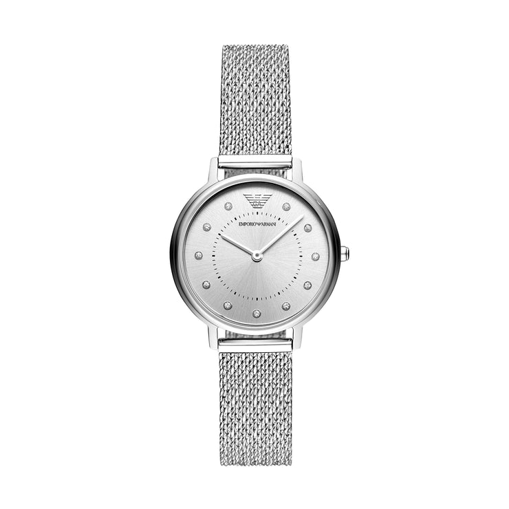 Emporio Armani Kappa Steel Mesh Ladies Watch AR11128