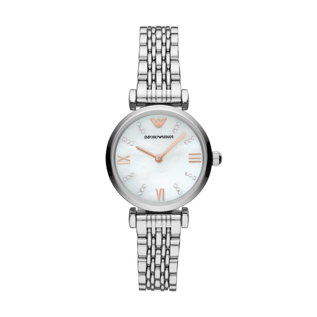 Emporio Armani Gianni Steel Ladies Watch AR11204