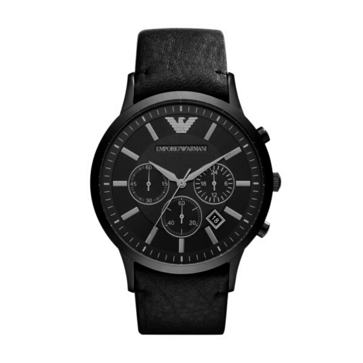 Emporio Armani Renato All Black Watch AR2461