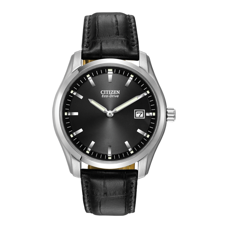 Citizen Eco-Drive Corso Black Mens Watch AU1040.08E