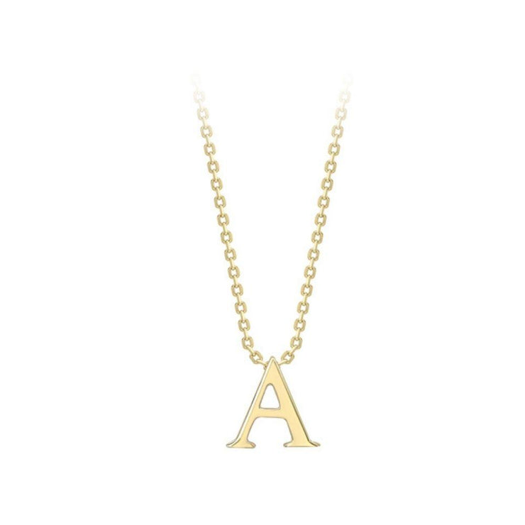 9ct Gold Initial 'A' Pendant
