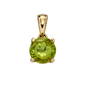 9ct Gold August Birthstone Pendant