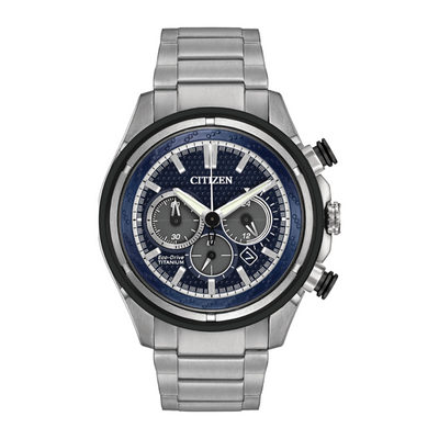 Citizen Eco-Drive Brycen Titanium Chronograph Watch CA4240.82L