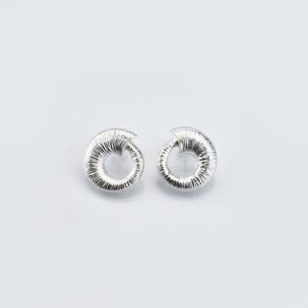 Martina Hamilton Croi Sliogan Silver Earrings CSB2