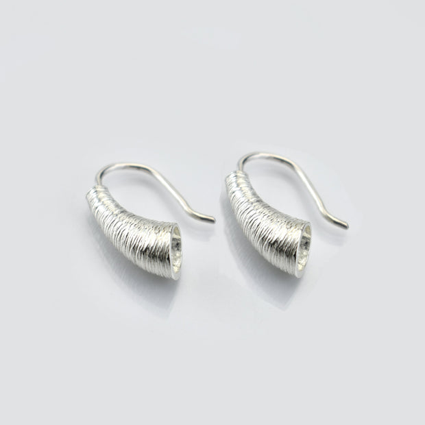 Martina Hamilton Croi Sliogan Drop Silver Earrings CTA1
