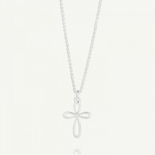 Molly Brown Cherish Signature Cross Necklace MB241-01