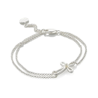 Molly Brown Cherish Pearl Cross Bracelet MB241-07