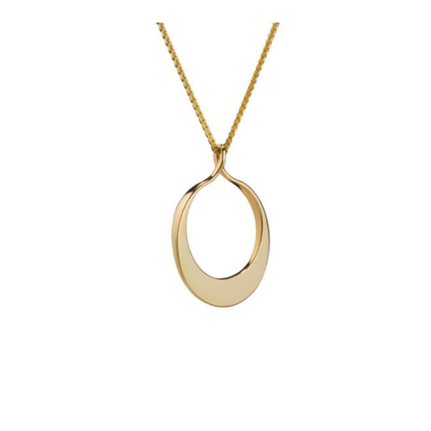 Maureen Lynch Circle of Dreams 9ct Gold Necklace DL14